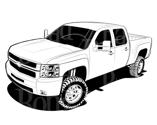 Chevrolet clipart chevy truck Clipart you image you Pickup