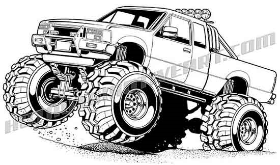 Truck clipart 4x4 truck Two buy truck one offroad