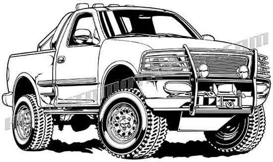 Truck clipart 4x4 truck 4x4 2002 150 clipart f