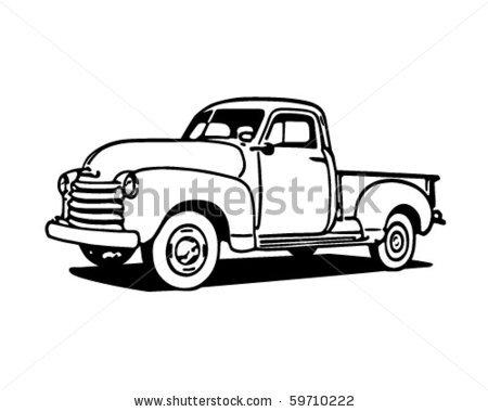 Classic clipart ford truck Farm Explore more!  art