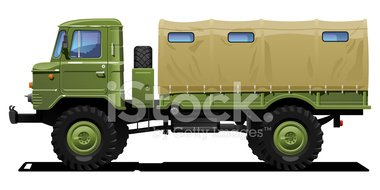 Truck clipart army truck Military Clipart vectors military Truck