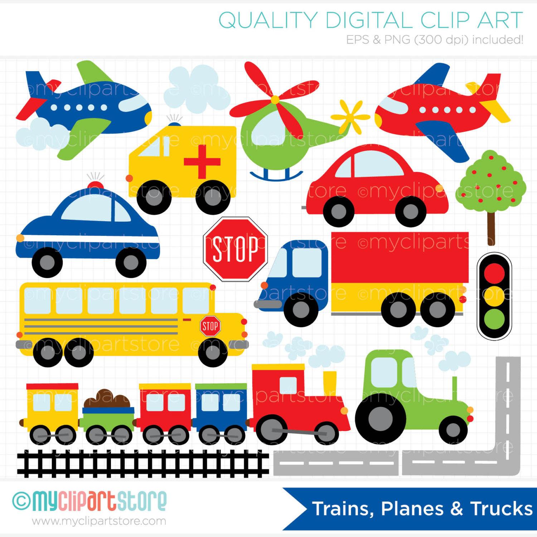 Truck clipart car truck (Instant Trucks Digital Trains