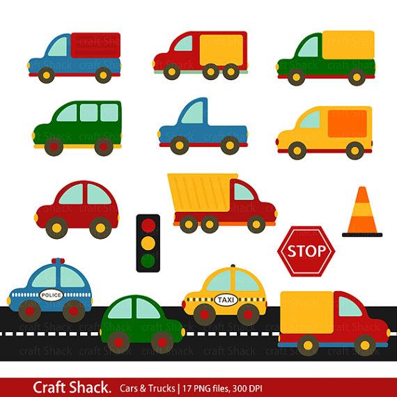 Truck clipart car truck Cars Trucks  Clipart And