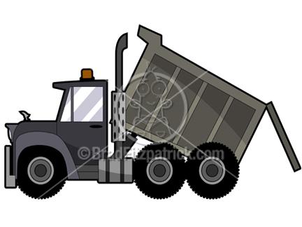 Cartoon clipart dump truck Clipart Truck Cartoon Dumptruck Royalty