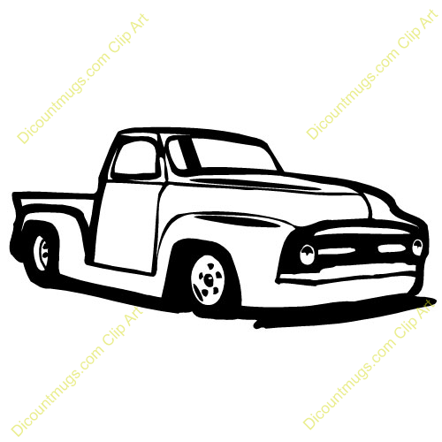 Truck clipart classic truck Classic truck clipart Antique clipart