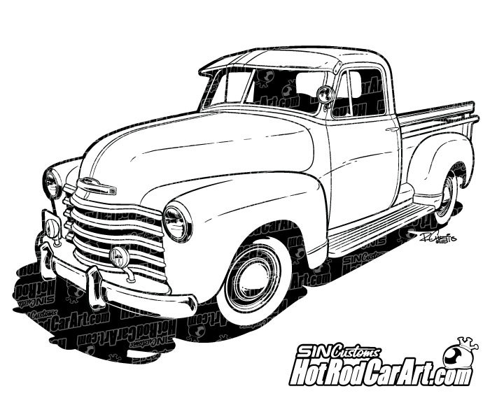 Chevrolet clipart chevy truck Clip Chevrolet clipart Automotive