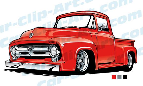 Chevrolet clipart antique truck Clipart Car  Classic pickup