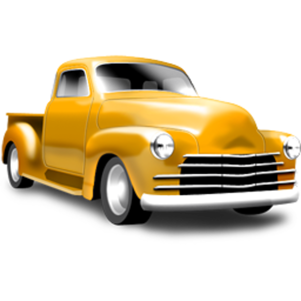 Truck clipart classic truck Truck  Ford Vintage Clipart