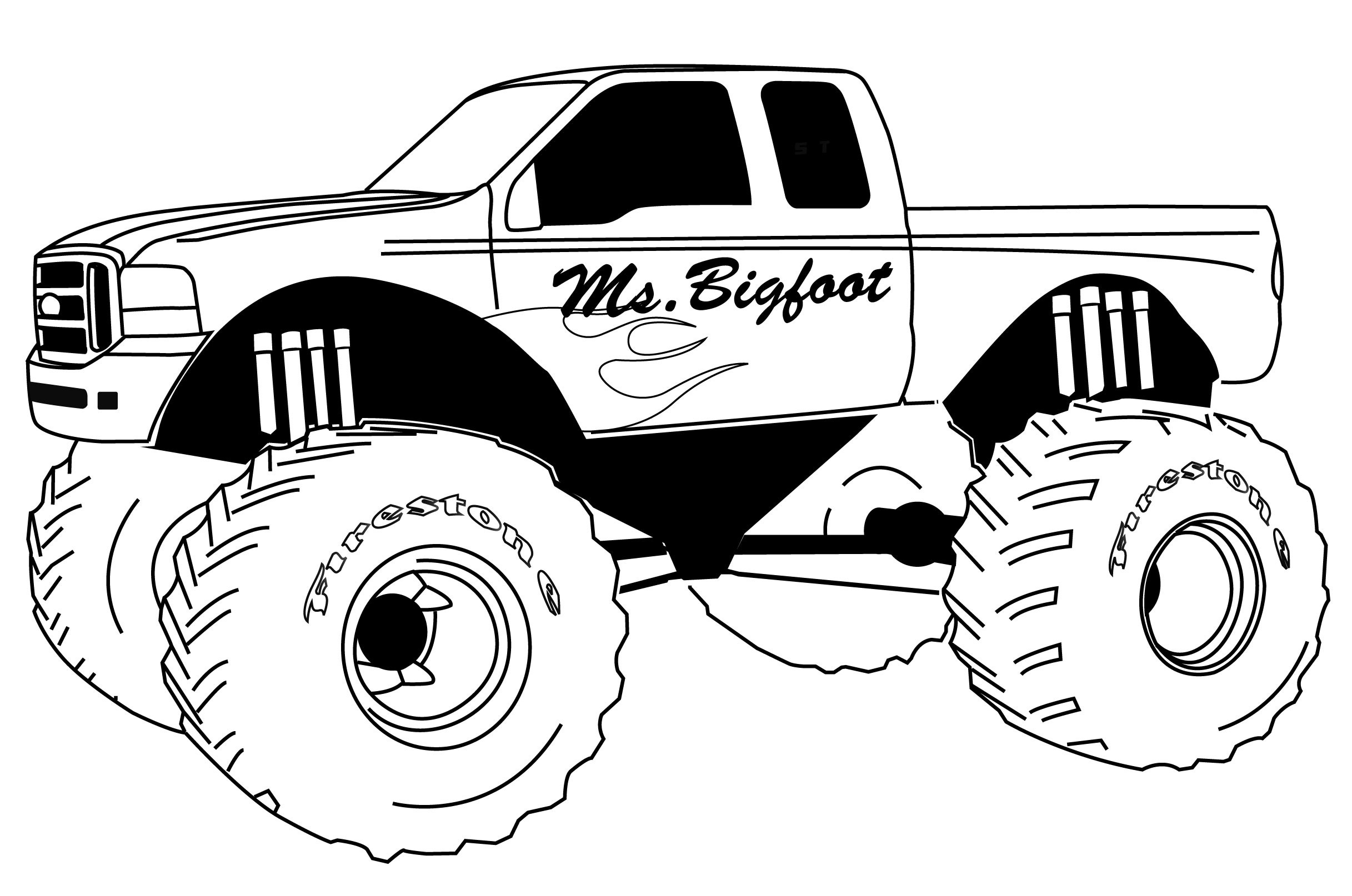 Truck clipart coloring book Kids Pages Color Pages Coloring
