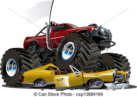 Truck clipart comic Cartoon Vector 10  Cartoon