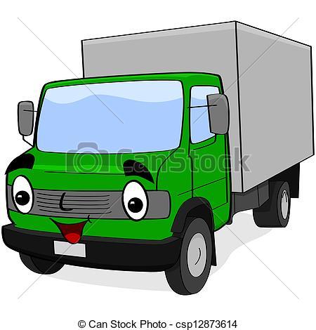 Truck clipart comic Csp12873614 truck illustration Cartoon Cartoon