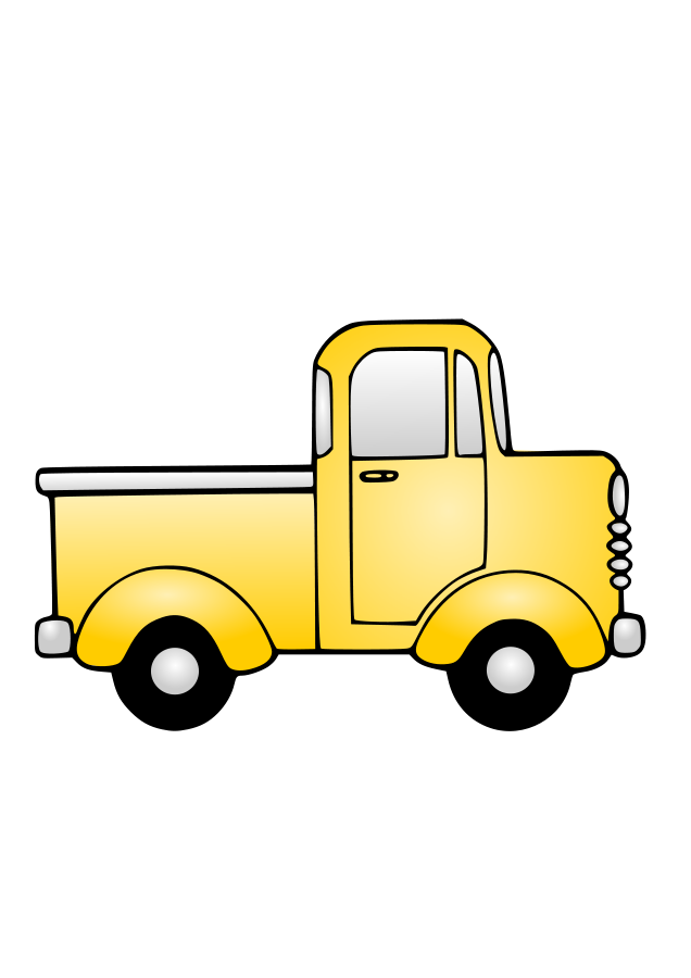 Truck clipart comic Art  Clipart Free Free