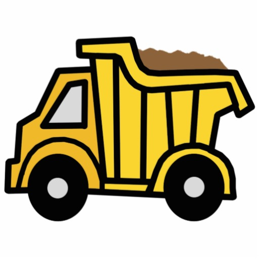 Truck clipart comic Art Clip Dump Truck Clip