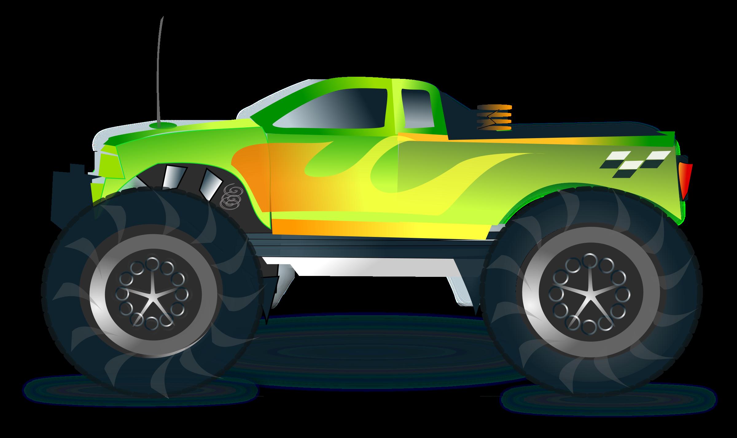 Truck clipart comic Clipart truck monster monster truck