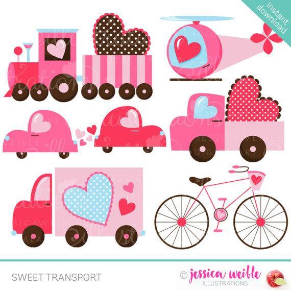 Cute clipart truck Il_570xn Sweet OK Digital Transport