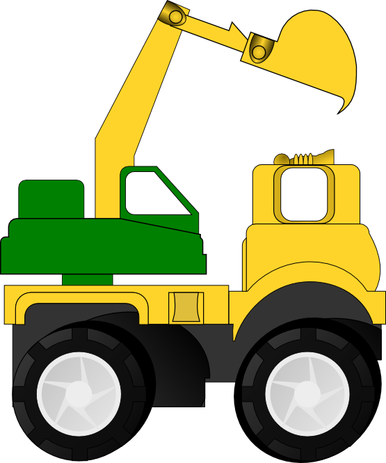 Excovator clipart truck Clipartcow Cliparting clipart kid images