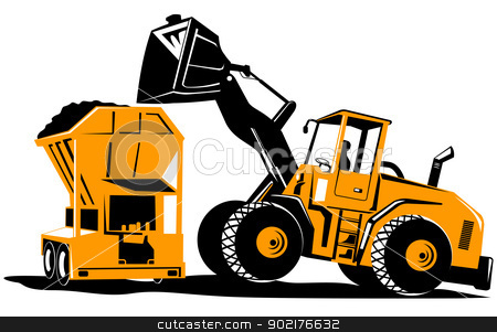 Excovator clipart digger #3