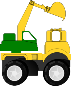 Excovator clipart digger #1
