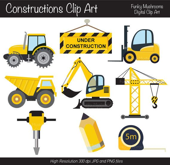 Excovator clipart truck About excavator All images 85