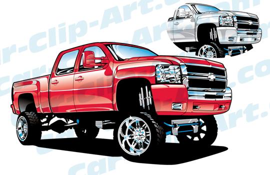 Truck clipart dodge Clip Clip Just Art! Car