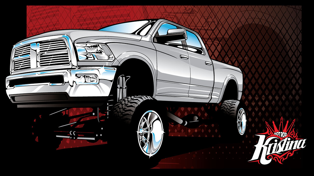 Truck clipart dodge Tuesday Dodge Tuesday 4×4 Artwork