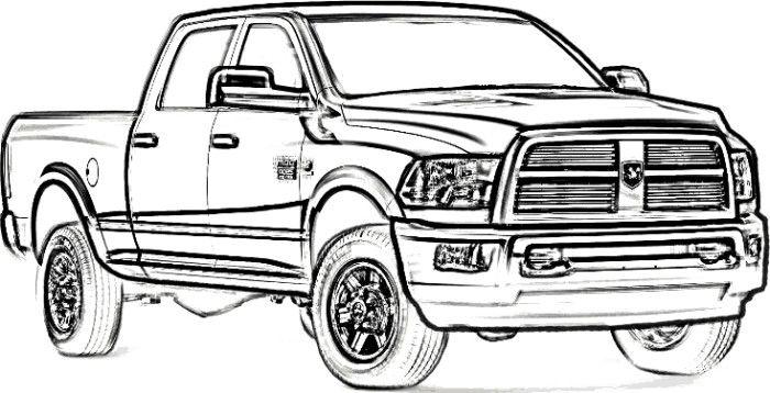 Truck clipart dodge A Ram Ram 2500 Dodge