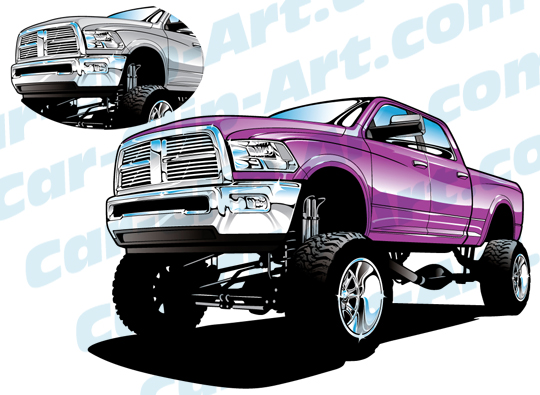 Dodge clipart dodge ram Clip Added Car 4X4 Truck