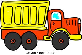 Truck clipart dumper truck Truck white style truck