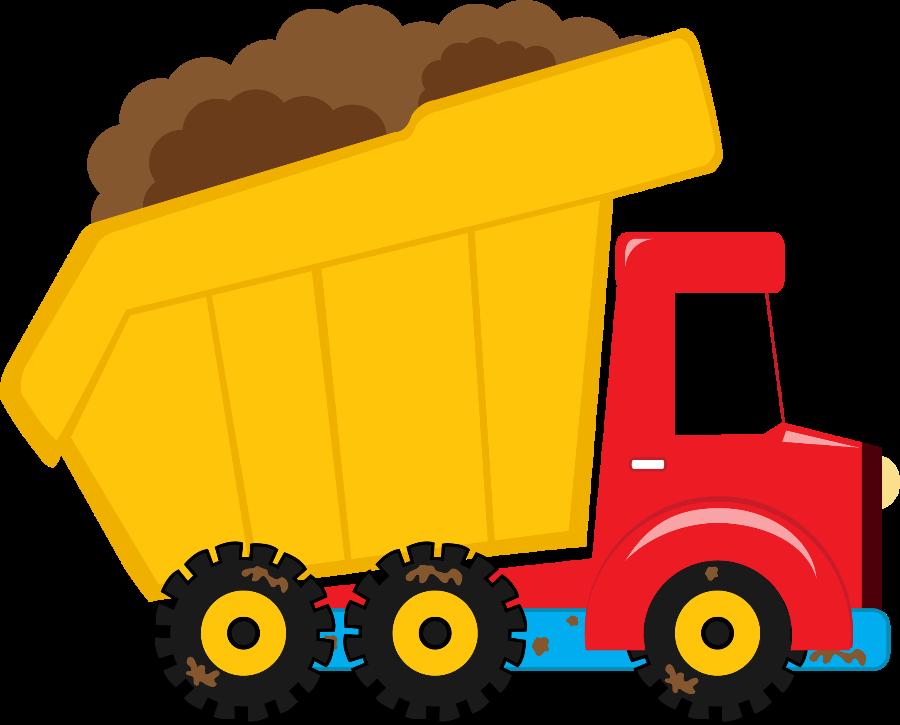 Truck clipart dumper truck (daniellemoraesfalcao) Transportation M PartyDump PartyConstruction