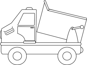 Truck clipart dumper truck Clipart Truck Clipart Page Coloring