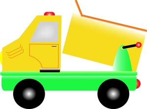 Truck clipart dumper truck Truck dump collection Dump Clipart