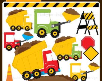 Truck clipart dumper truck Dump INSTANT Images Panda Clipart