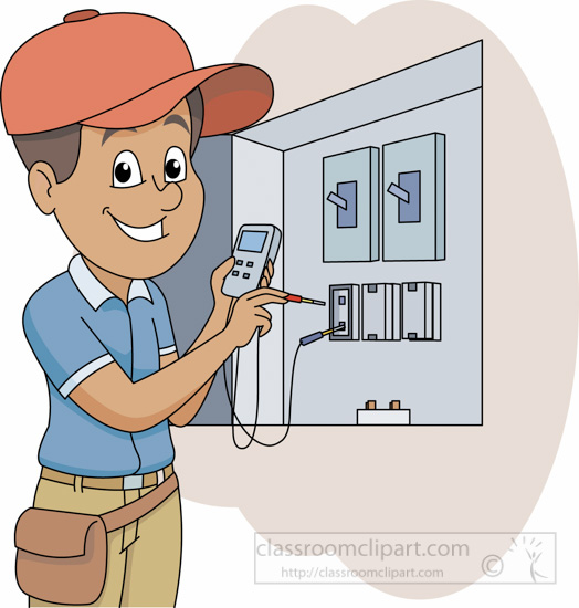 Electrical clipart electrical work #2