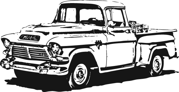 Ford clipart antique truck Clipart Truck 1940 Up Pick