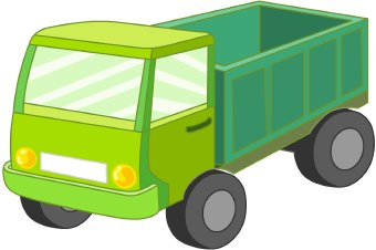 Bed clipart green Clipart Download Art Truck Green