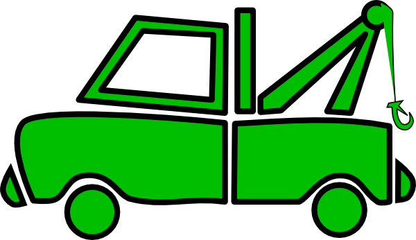 Red clipart tow truck #5