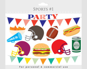 Football clipart baby shower #3