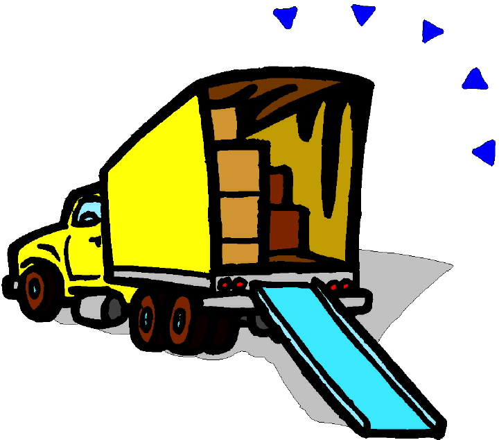 Truck clipart loading truck Van Moving Pictures Moving Of