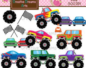 Truck clipart monster truck Trucks clipart 40% Monsters /