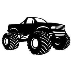 Truck clipart monster truck Monster truck Free art of