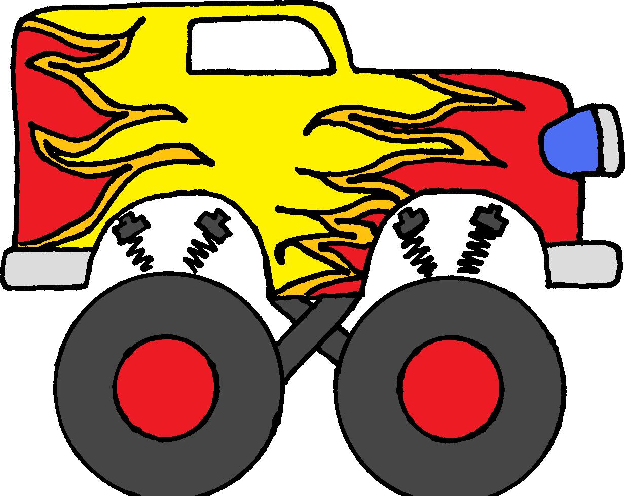 Hot Wheels clipart monster jam Monster Panda Truck Images Clip