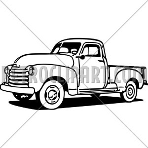 Truck clipart old fashioned Clipart Truck Images Free Pickup