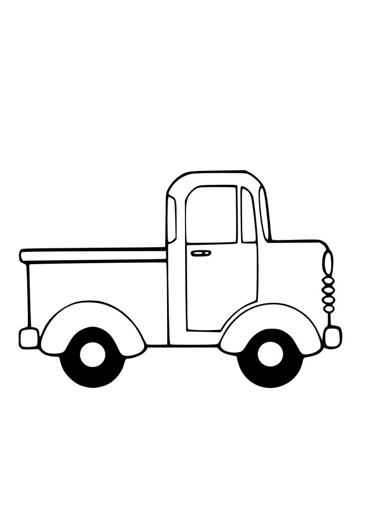 Truck clipart old fashioned Like on Clipart White 25+