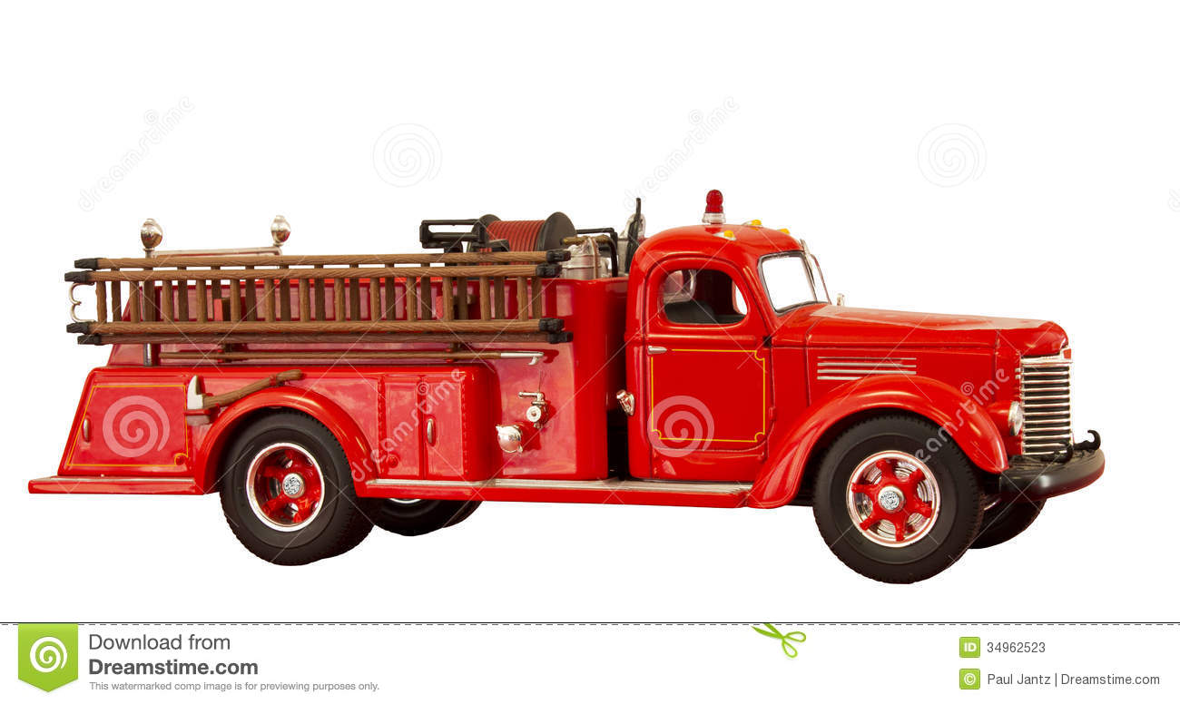 Truck clipart old fashioned Clipart Fire Antique Truck