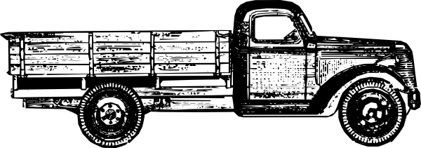Truck clipart old fashioned Vector Old com image Art