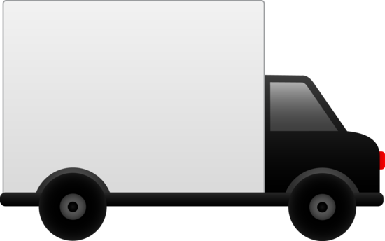 Truck clipart package delivery Delivery Clipart Art Art Delivery