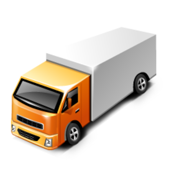 Truck clipart package delivery As: Free Truck at clip