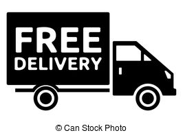 Truck clipart package delivery Free Vector Clip gmo Search
