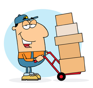 Truck clipart package delivery Truck Free Clipart Images Delivery