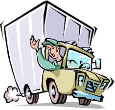 Truck clipart package delivery Clipart Truck Truck Download Shipping